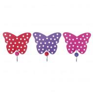 Jabadabado Wandhaken Set Schmetterlinge