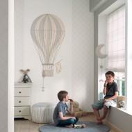 Jules&Julie Wandbild Heißluftballon beige-grau