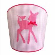 Juul Design Wandlampe Rehkitz in rosa