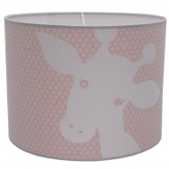 Juul Design Lampenschirm Giraffe in rosa Ø 35cm