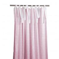 Annette Frank Vorhangschal Barock rosa 150x250cm