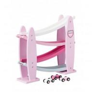 Kids Concept Kugelbahn Auto rosa