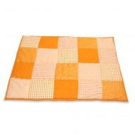 Taftan Krabbeldecke bzw. Laufstalleinlage in orange