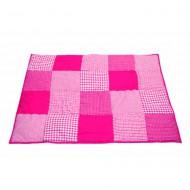 Taftan Krabbeldecke bzw. Laufstalleinlage in pink