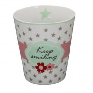 Krasilnikoff Happy Mug Keep Smiling
