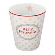 Krasilnikoff Happy Mug Beste Freundin