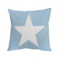 Krasilnikoff Kissenhülle Big Star Blau