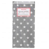 Krima&Isa Papiertüten in grau mit Sternen