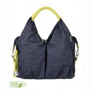 Lässig Neckline Bag Denim Blue