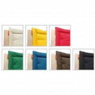 Leander Sitzkissen in 7 Farben für Hochstuhl