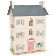 Le Toy Van Cherry Tree House- großes  Puppenhaus aus Holz in 66 x 35 x 92cm