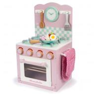 Le Toy Van hochwertiger, kleiner Spielherd aus Holz