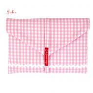 la fraise rouge Windeltaschein rosa Vichykaro