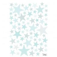 Lilipinso Wandsticker A3 Sterne mint