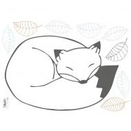 Lilipinso Wandsticker A3 mit Fuchs