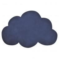 Lilipinso Kinderteppich 64x100cm Wolke in marine