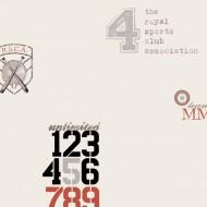 Lilleby Vliestapete RSCA Baseballmotiv in silber-rot-schwarz