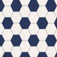 Lilleby Vliestapete Fußball in blau