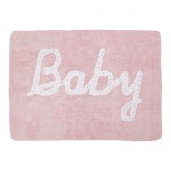 Teppich waschbar Baby in pink 120x160cm