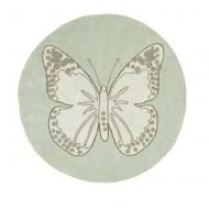 Lorena Canals waschbarer Teppich Butterfly grün 160cm