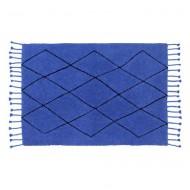 Lorena Canals waschbarer Teppich Berber Classics in blau 140x200cm