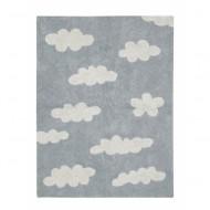 Lorena Canals waschbarer Teppich Wolken Vintage grau 120x160cm