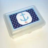Lusciamar Lunchbox Motiv Anker, Name ELLA