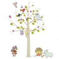 MIMI'lou kleiner Baum mit Tieren - Höhe: 1,2m