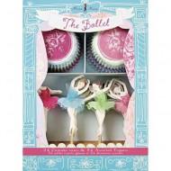 Meri Meri Cupcake-Set Ballett