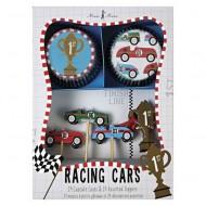 Meri Meri Cupcake-Set Racing Cars