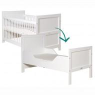 Bopita Mix&Match umbaubares Babybett in 70x140cm in weiß