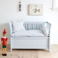 Kinderbank von Oliver Furniture in grau