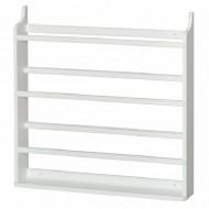 Oliver Furniture  vielseitiges Hängeboard bzw. Tellerregal in weiß