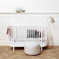 Oliver Furniture Wood Collection Baby- und Kinderbett 70x140cm weiß