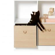 Oliver Furniture Wood Aufbewahrungskisten Eiche/Weiss