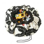 Play&Go Aufbewahrungssack Storage Bag Roadmap - Autorennbahn