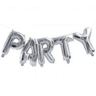 Ginger Ray Ballon-Girlande Party silber