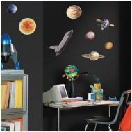 """RoomMates Wandsticker Weltraum """"Space Travel"""""""