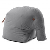 SITTING FRIENDS Sitzsack Elefant ELMAR in grau- outdoorgeeignet