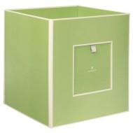 Semikolon Aufbewahrungsbox aus Pappe grün
