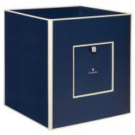 Semikolon Aufbewahrungsbox aus Pappe dunkelblau