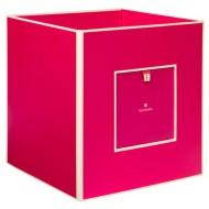 Semikolon Aufbewahrungsbox aus Pappe rot