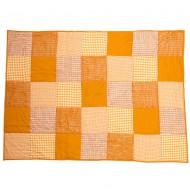 Taftan Tagesdecke Patchwork orange in zwei Größen