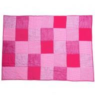 Taftan Tagesdecke Patchwork pink in zwei Größen