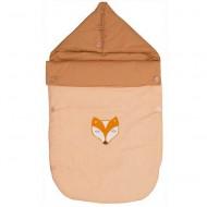 Taftan Fußsack orange mit Fuchs