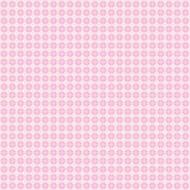 Tapete Retroblümchen rosa