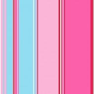 Tapete Streifen pink-rosa-hellblau