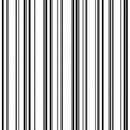 Tapete Streifen weiß-schwarz
