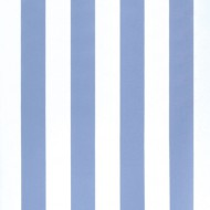 Tapete Midistreifen stahlblau-weiß von Annette Frank