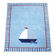 Teppich Segelboot von Annette Frank 140x200cm